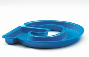 Flange Mount Formed Plastic Letter Back