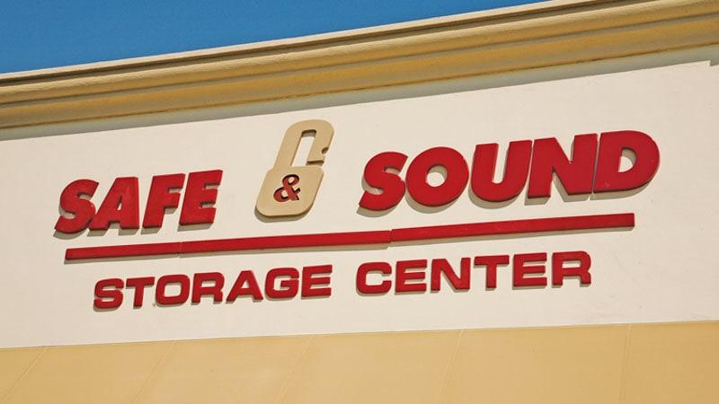 formed plastic red letters safe sound