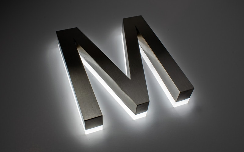 Sign Letters - 3D Letters for Indoor & Outdoor in Plastic