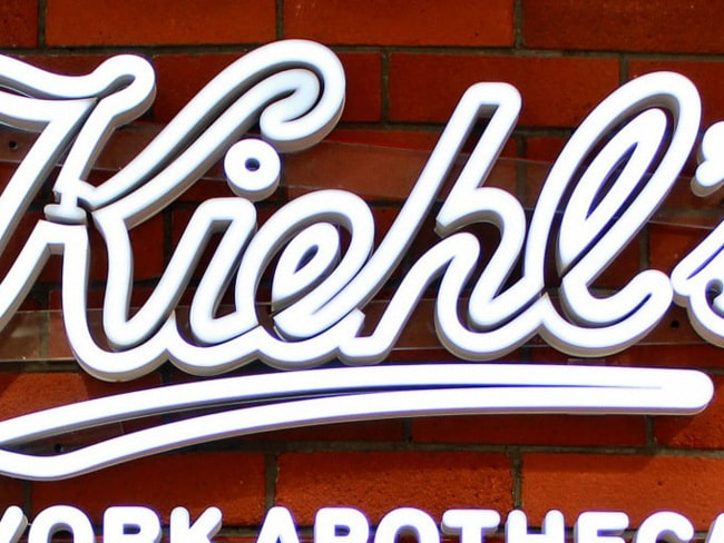 faux led neon white kiehls