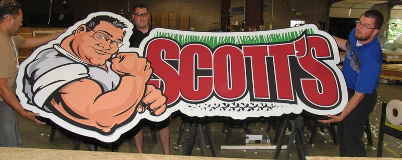 lighted channel logo scotts
