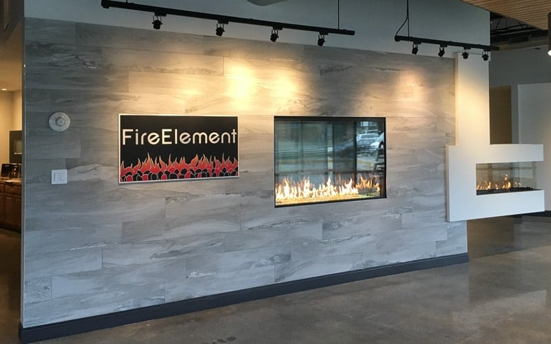 aluminum metal plaque custom paint fire element 2