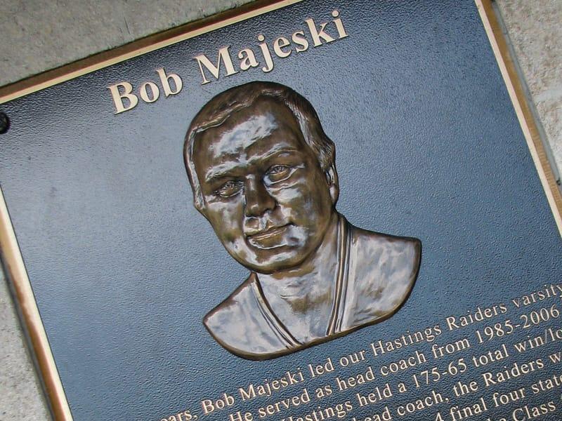 Cast Bronze commemorative dedication Plaque with 3d face Bas Sculpted Relief Portrait