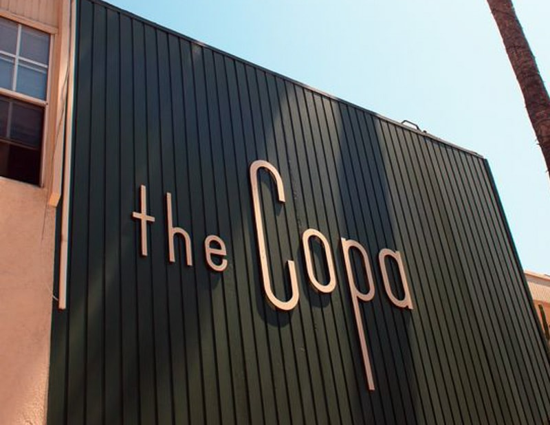 brushed copper letters copa
