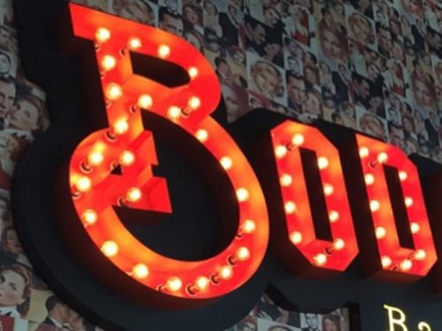 marquee lighted letters