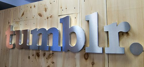 Thick Brushed Aluminum Metal Letters on Office Wooden Wall